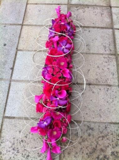 Commander bouquets Monnieres fleuriste Atout Rose