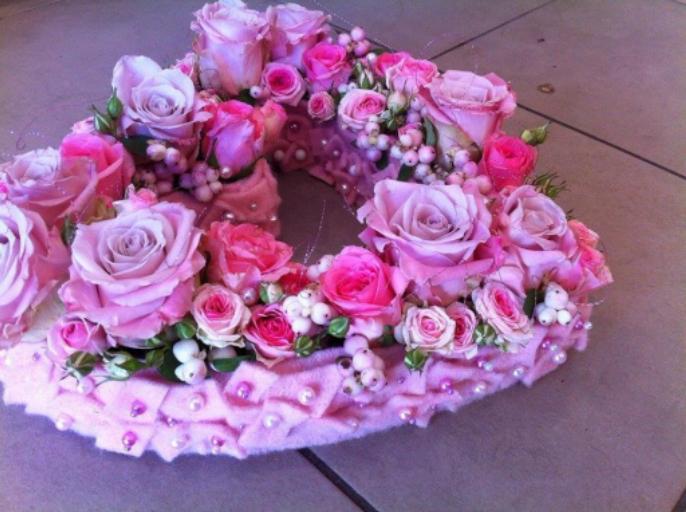 Livraison bouquet fleurs Monnieres  Atout Rose