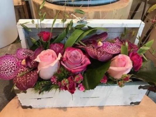 Bouquet de fleurs Myans  D'une fleur à l'autre