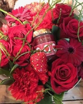 Livrer bouquets fleur Myans  D'une fleur à l'autre