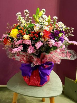 Livraisons de bouquets fleur Ognes fleuriste créateur Lucasfleurs