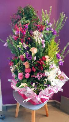 Livrer bouquet sur mesure Ognes artisan fleuriste Lucasfleurs