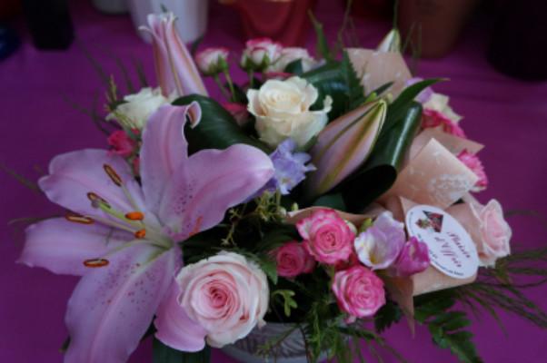Livraison bouquet de fleur Le Pradet fleuriste créateur Idfleurs
