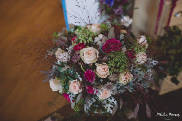 Commande bouquet sur mesure La Rochelle fleuriste créateur Josefa