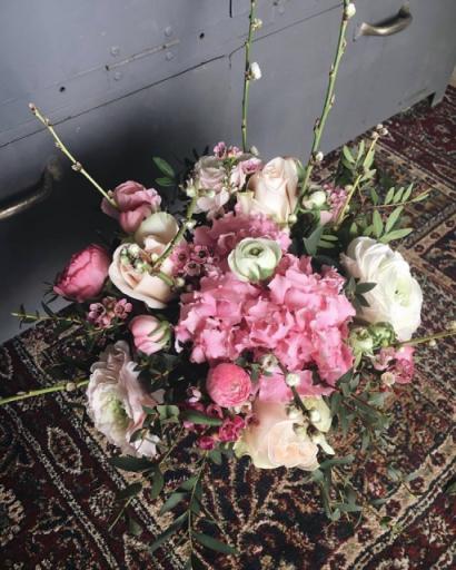 Commande bouquet de fleurs La Rochelle artisan fleuriste Josefa