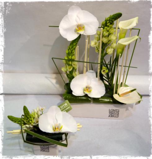 Commande bouquet de fleur Quincieux fleuriste Bouton d'Or