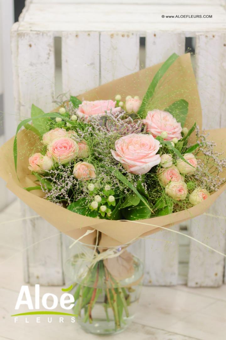 Livraison fleurs réalisée par un artisan fleuriste - Coleebree 5faa3206d44