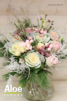 Envoi bouquets Rosbruck fleuriste créateur Aloé Fleurs
