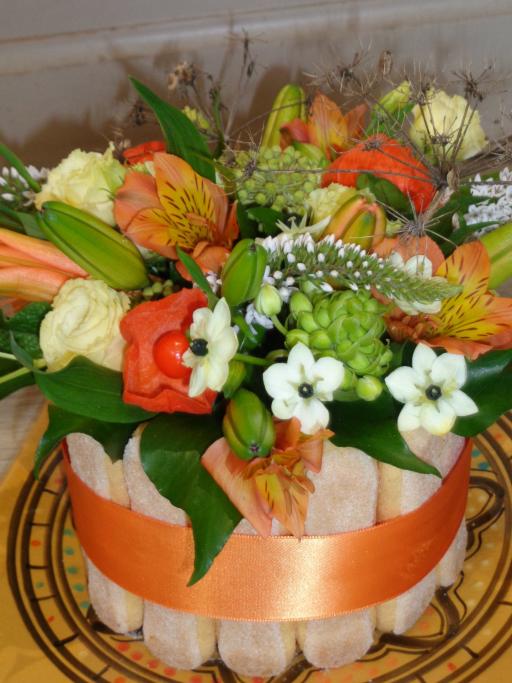 Composition florale Plelan-Le-Grand  Amour de Fleurs