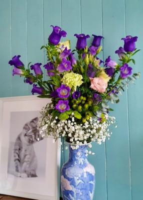 Envoi bouquets Binche fleuriste créateur Betty Fleurs
