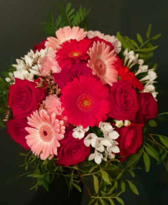 Bouquet sur mesure Binche fleuriste Betty Fleurs