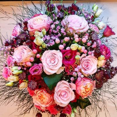 Livrer bouquet fleurs Cerfontaine artisan fleuriste Betty Fleurs