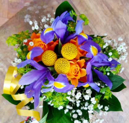 Commander bouquet de fleur Choisies artisan fleuriste Betty Fleurs