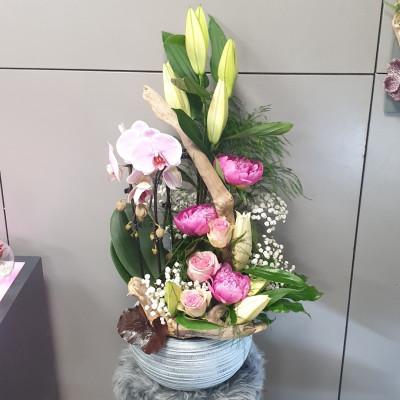Livraison de bouquet de fleur Jurancon artisan fleuriste Hellebore