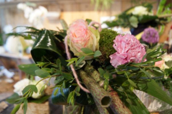 Bouquet sur mesure Ribeauville artisan fleuriste Brindille et Pom de Pin