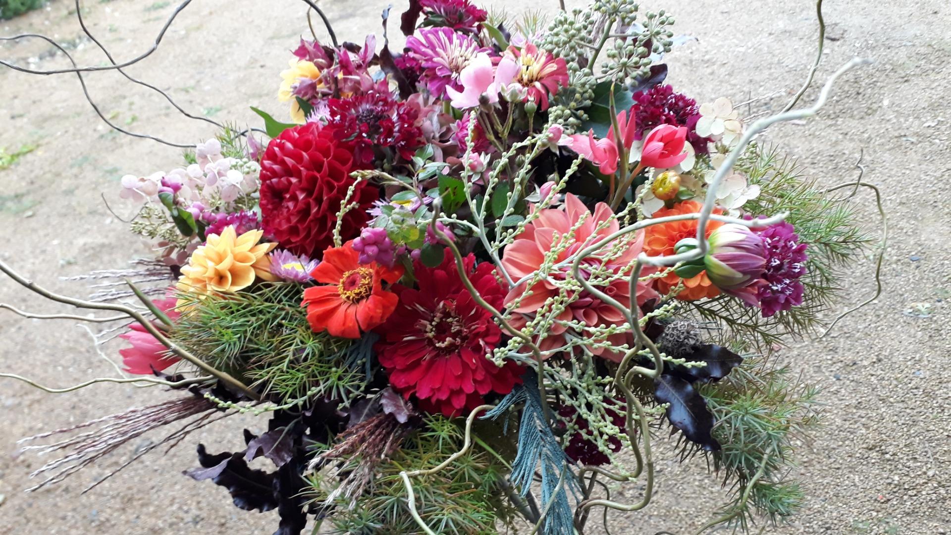 Envoi fleurs fleuriste Akène Fleuriste Créatrice à Goudelin