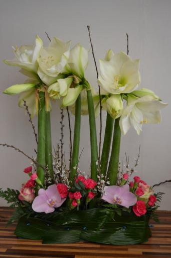 Offrir composition florale Vouillers artisan fleuriste Au Fil des Fleurs