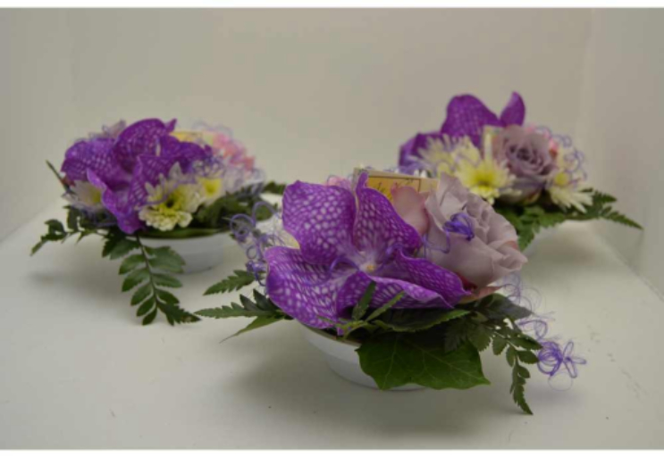 Commander fleur bouquet Vouillers fleuriste Au Fil des Fleurs