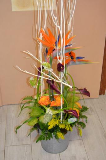 Livraisons de fleur bouquet Vouillers fleuriste créateur Au Fil des Fleurs