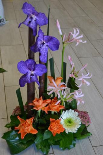 Bouquets Vouillers fleuriste Au Fil des Fleurs