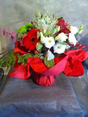 Envoi de fleur bouquet Corneville-La-Fouquetiere fleuriste créateur Le Bois des Roses