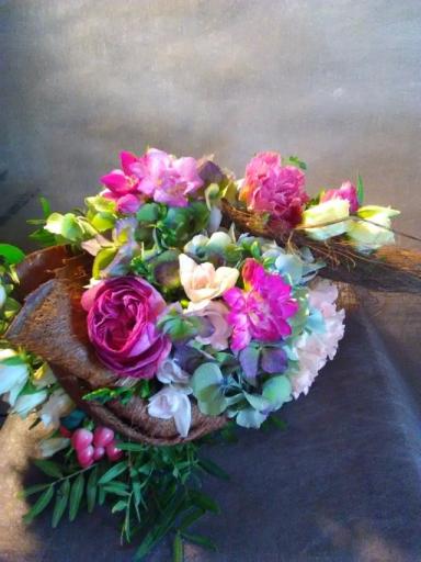 Commande bouquet Bois-Arnault artisan fleuriste Le Bois des Roses