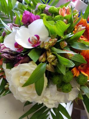 Livraison bouquet fleurs Le Plessis-Robinson fleuriste créateur L'ile aux Marguerites