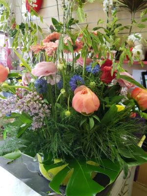 Commander bouquets de fleur Le Plessis-Robinson artisan fleuriste L'ile aux Marguerites