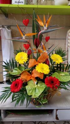 Bouquet fleurs Le Plessis-Robinson fleuriste créateur L'ile aux Marguerites