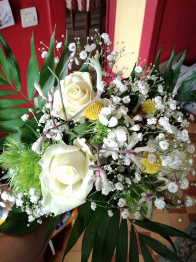 Bouquets de fleur Preny  Armoise & Coquelicot