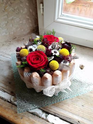 Livraisons de bouquet de fleur Preny fleuriste Armoise & Coquelicot