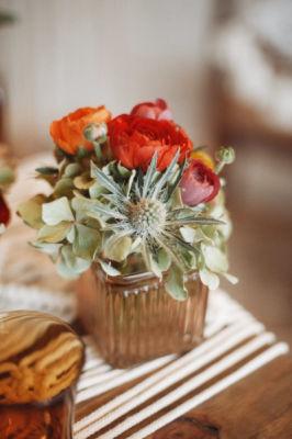 Bouquet fleur Villeneuve-De-La-Raho fleuriste L'Herbe Folle Fleuriste