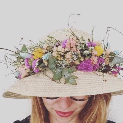Bouquet de fleur Canet-En-Roussillon fleuriste créateur L'Herbe Folle Fleuriste
