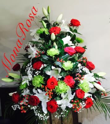 Envoie de bouquets fleur Sartrouville fleuriste MonaRosa