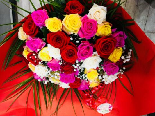 Fleur bouquet Sartrouville fleuriste MonaRosa