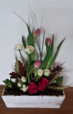 Livraison de bouquets fleur Allenay artisan fleuriste Vertige Fleuri