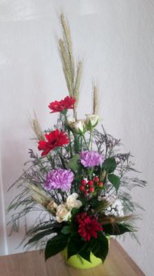 Envoi de bouquets Allenay fleuriste créateur Vertige Fleuri