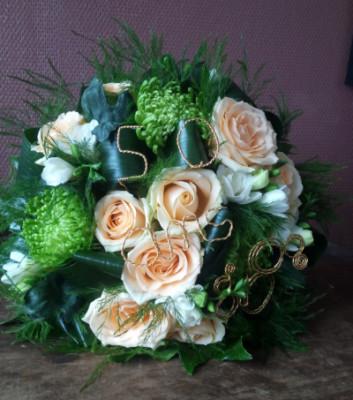 Commander bouquets Allenay artisan fleuriste Vertige Fleuri