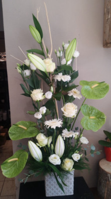 Envoi bouquet fleur Allenay fleuriste créateur Vertige Fleuri