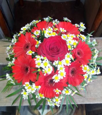 Offrir des fleurs dimanche Vertige Fleuri à Mers-les-Bains