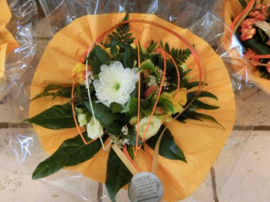 Envoi de bouquet de fleurs Souvigne fleuriste créateur Nature Enchantée