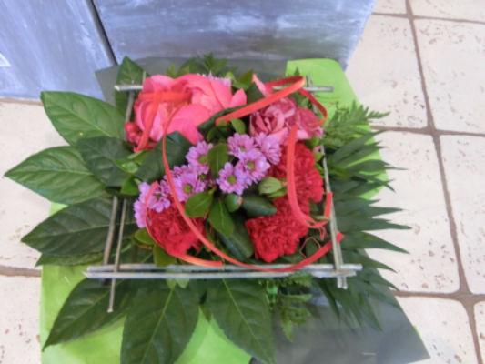 Envoie de bouquet sur mesure Prisse-La-Charriere artisan fleuriste Nature Enchantée