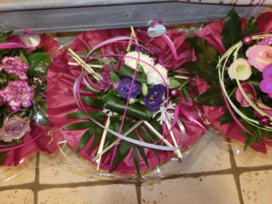 Envoyer bouquet de fleur Souvigne fleuriste Nature Enchantée