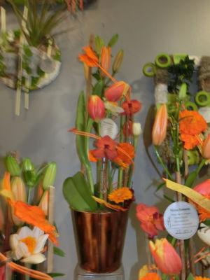 Envoyer fleur bouquet Prisse-La-Charriere fleuriste créateur Nature Enchantée