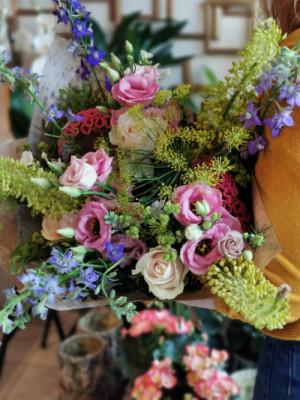 Envoi de bouquet de fleur Court-Saint-Etienne  Fleur de Celle...