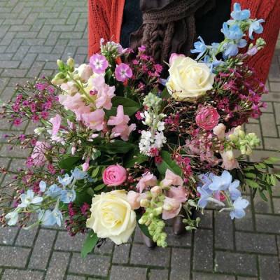 Commande bouquet sur mesure Court-Saint-Etienne  Fleur de Celle...
