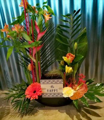Bouquet Saint-Fulgent fleuriste Entre'Pôt