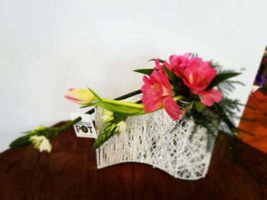 Livraison de bouquets de fleur Saint-Fulgent fleuriste Entre'Pôt