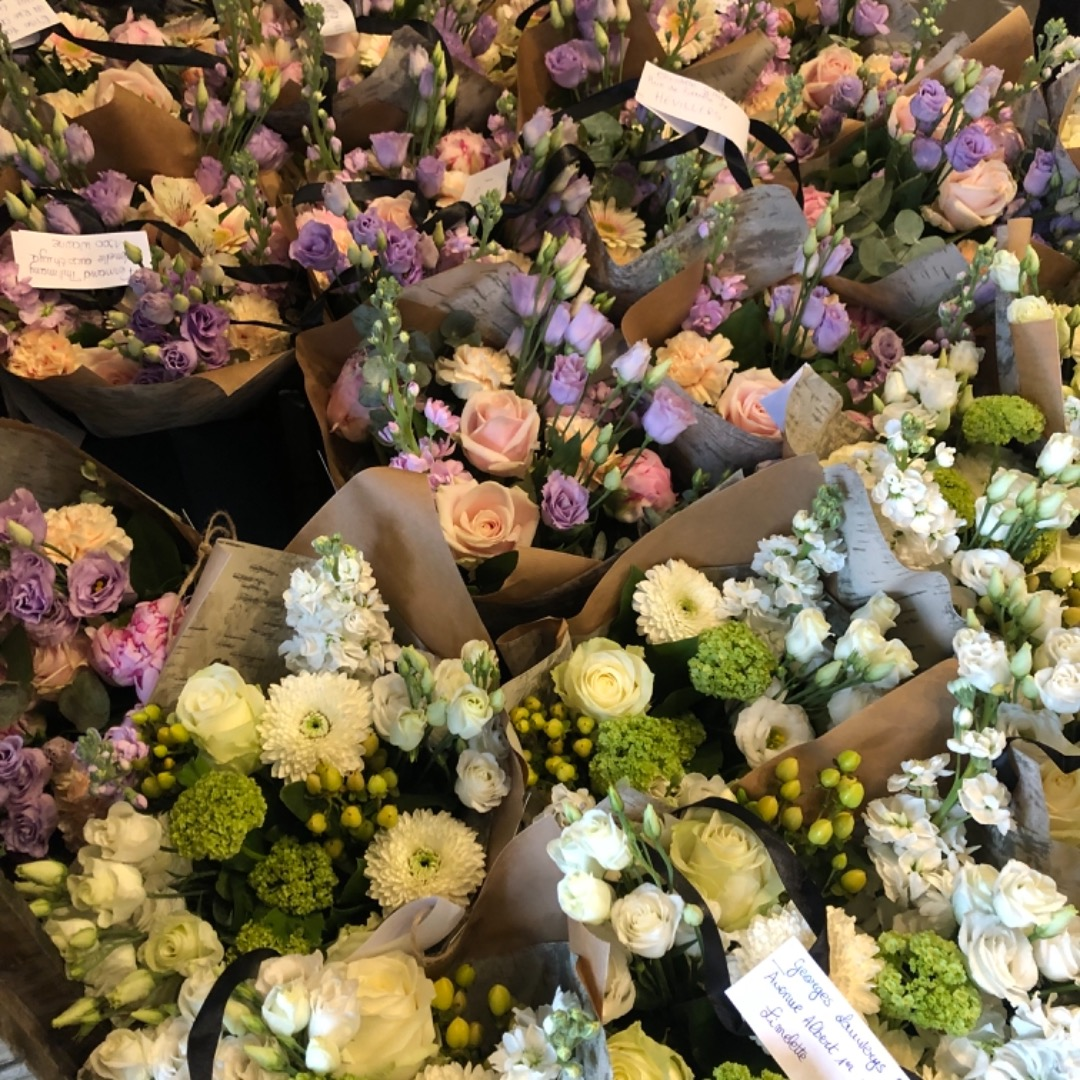 Livraison de bouquet de fleurs fleuriste Fleur de Celle... à Ottignies-Louvain-La-Neuve