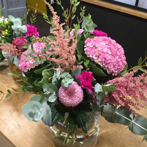 Commande bouquets de fleur Nantes fleuriste créateur L'Atelier de Brice